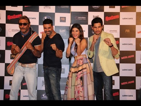 Akshay Kumar, Siddharth Malhotra & Starcast At Trailer Launch Of Film Brothers