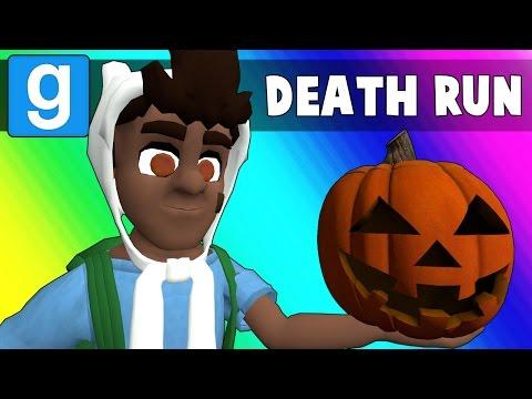 Gmod Deathrun Funny Moments - Halloween Edition! (Garry's Mod) (видео)