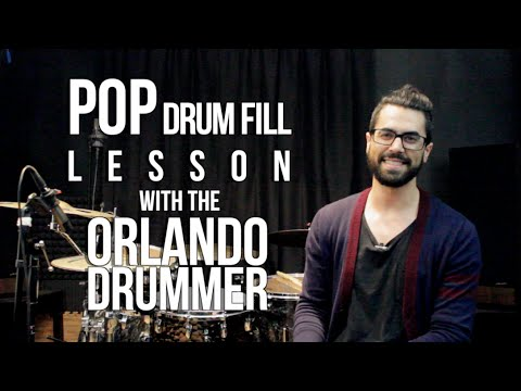 Pop Drum Fill - A Lesson With The Orlando Drummer