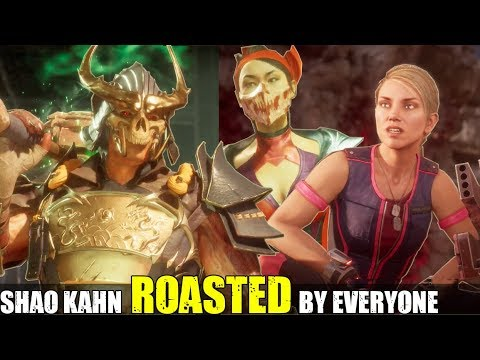 Who Roasts & Insults Shao Kahn the Best? (Relationship Banter Intro Dialogues) MK 11