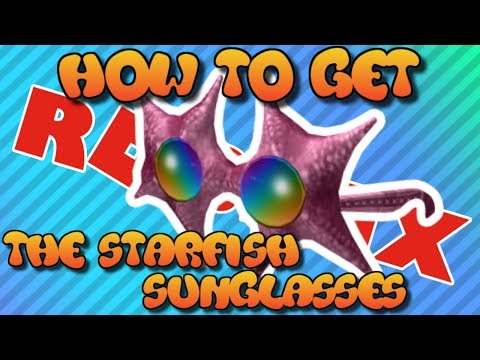 How to Get The Starfish Sunglasses  Roblox Summer Games 2017 Event