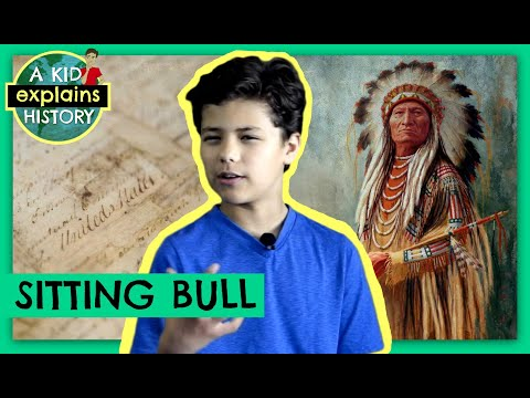 A KID EXPLAINS SITTING BULL