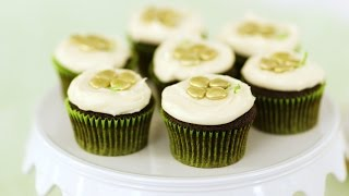 St. Patrick's Day Cupcakes- Sweet Talk with Lindsey Strand by Everyday Food