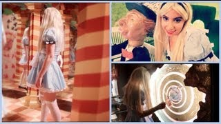 Alice In Wonderland Halloween Tutorial! (Makeup, Hair,&Costume)