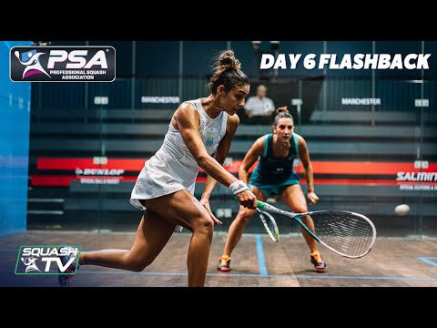 Squash: Manchester Open 2020 Flashback - Day 6
