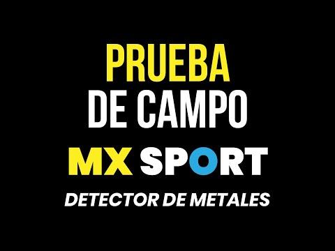 Pruebas con el Detector de metal MX Sport White's (Final 1)