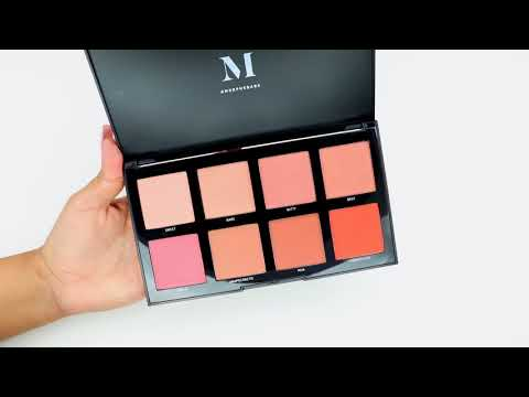 Morphe 8W Warm Master Blush Palette | SWATCHES