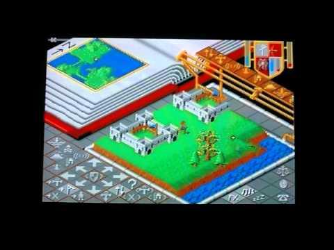 Populous Atari