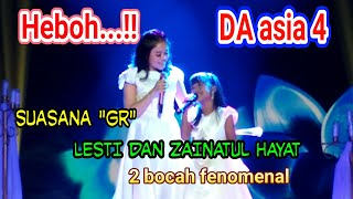 Video KEHEBOHAN  duet LESTI DAN ZAINATUL HAYAT(ina) .. DI saat rehearsel(GR).. MP3, 3GP, MP4, WEBM, AVI, FLV April 2019