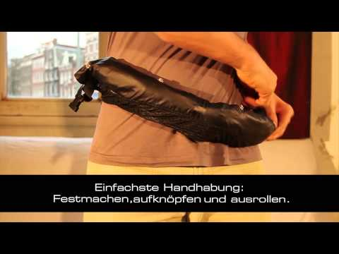 Rainmates die innovative Regenhose