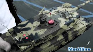 Team RC Infrared Remote Control Battle Tank (#261-167&261-168)