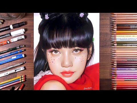 Play this video Drawing BLACKPINK Lisa  drawholic