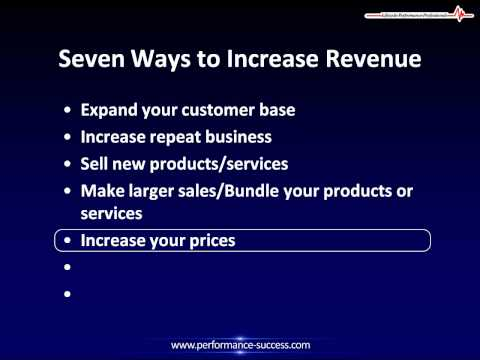How To Increase Revenue, 7 Ways to Increase Revenue and Internet Sales