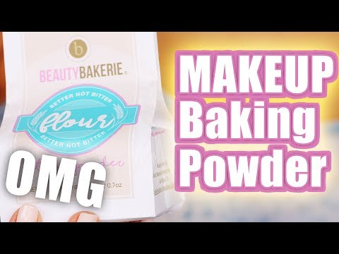 BAKING MY FACE with FLOUR ... OMG