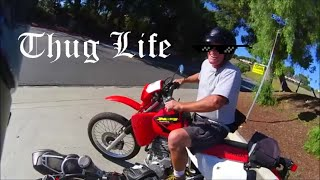 8. Old Guy on a XR650l kills it!