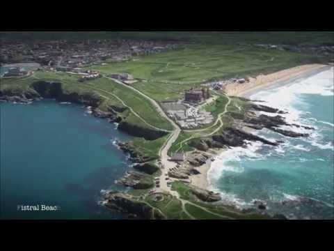 New aerial footage of Cornwall