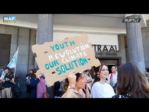 المئات يتظاهرون فى بلجيكا لمطالبة الحكومة بمواجهة التغير المناخي