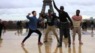 Elektro kif dancers at the Tour Eiffel by Blanca Li. Jerem, Cerizz, Crazy, Kyrra, Big Jay, Ardirx; - YouTube
