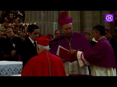 Carlos Aguiar Retes toma posesión como nuevo arzobispo primado de México