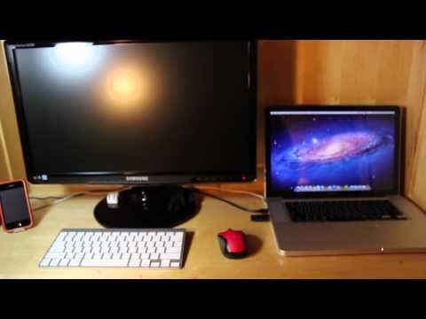 external monitor - I thought in this video I will show you, step by step, how to connect your external monitor to your Mac. I show you the settings as well. Twitter: http://www...