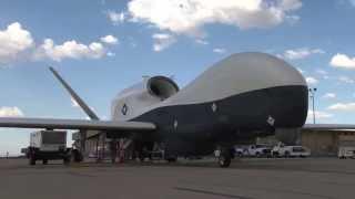 Northrop Grumman MQ-4C Triton Drone - First Cross