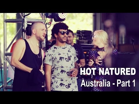 Natured - The first of a series of short films from Hot Natured's tour of Australia. Kicking off at Stereosonic Festival in Sydney and headlining the Hot Creations sta...