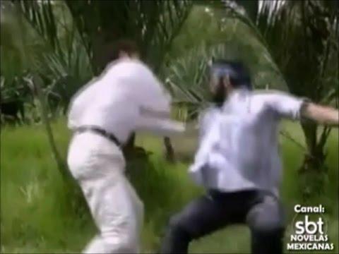 Marimar - Adrián dá Uma Surra em Nazário