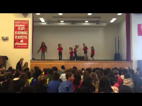 Suisun Valley Elementary Talent Show Finale May 26, 201