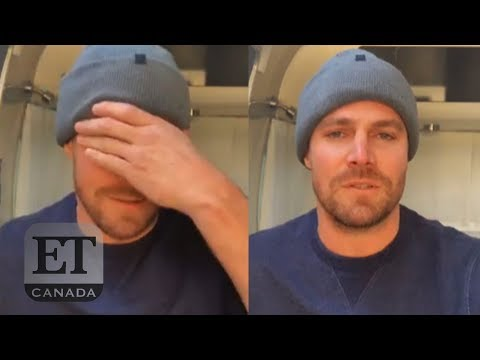 Stephen Amell's Tearful Goodbye To 'Arrow'