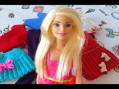 #Одевалки Барби.Одежда для #Барби своими руками. видео