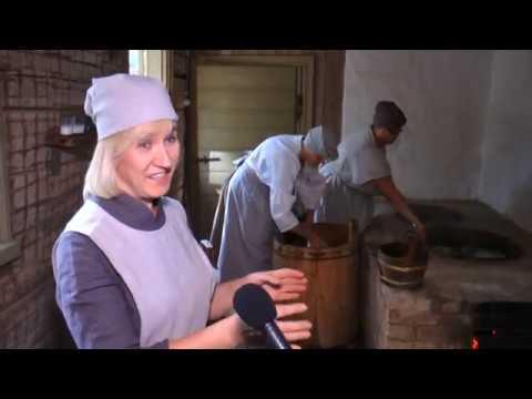 Darboties sāk restaurētais Lielplatones muižas Vešūzis