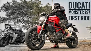 8. Ducati Monster 797 First Ride | (Highway Superspeed Run) |  RWR