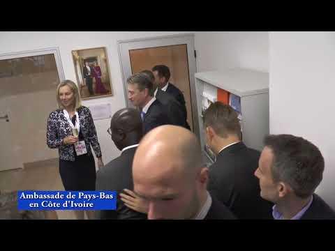 COTE D'IVOIRE: Double cérémonie d'ouverture de l'Ambassade des Pays-Bas Abidjan et signature des Accords d'investissement en Côte d'Ivoire