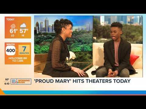 Atlanta Native Jahi Winston Stars in 'Proud Mary' featuring Taraji P. Henson