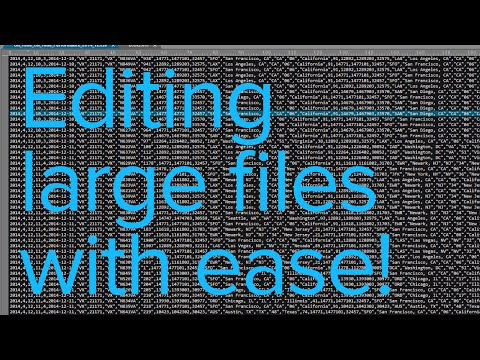Large file text editor - 8 ways to optimize UltraEdit for editing HUGE files