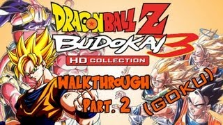 Dragon Ball Z HD Collection Walkthrough - Budokai 3 (Goku) Pt. 2