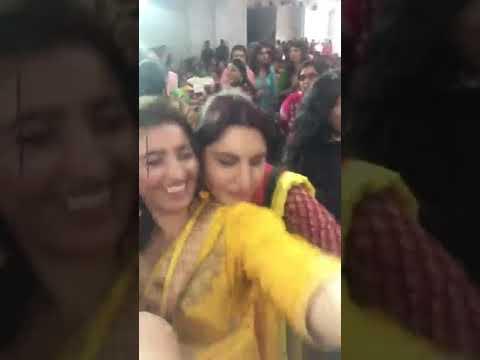 Indian Punjabi Bhabhi Boob Press In Marriage Hot Aunty