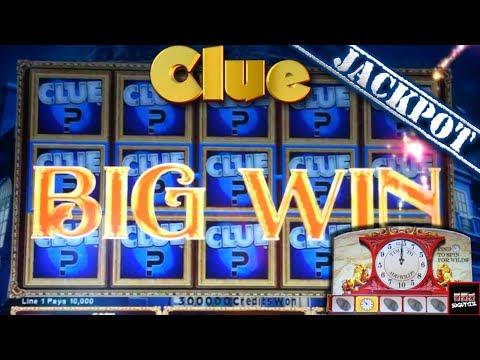 Clue Slot Machine Bonus - Time to Add Wilds - BIG WIN!!! JACKPOT HANDPAY!