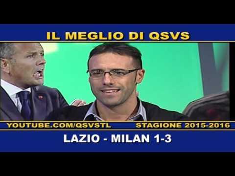 qsvs: i gol di lazio - milan 1 a 3