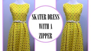 Video How to sew a Circle Skirt Dress download in MP3, 3GP, MP4, WEBM, AVI, FLV January 2017