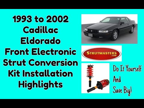 1993-2002 Cadillac Eldorado Front Electronic Suspension Conversion Installation
