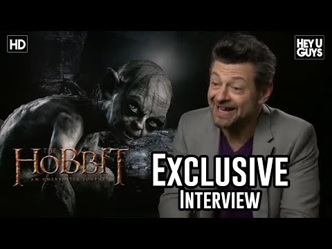 Adny Serkis - James Kleinmann interviews Andy Serkis who returns as Gollum in Peter Jackson's The Hobbit: AN Unexpected Journey.