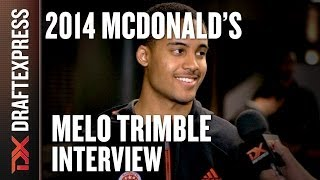 Melo Trimble - 2014 McDonald's All American Game - Interview