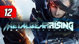 Metal Gear Rising Revengeance Walkthrough - Part 12 Barrell Drum Let's Play Gameplay Commentary