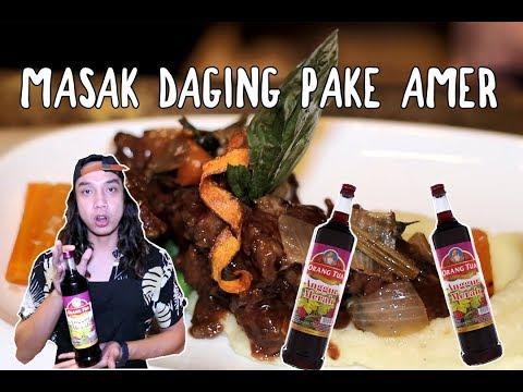 NEKAT!! Masak Daging Pake Anggur Orangtua Di Hotel Berbintang ***CHEF NYA MARAH***