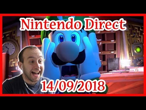 Réaction Live - Nintendo Direct - 14.09.2018 (видео)