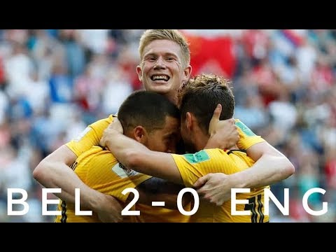 BEL 2-0 ENG   All Goals and Extended Highlights   World Cup 2018 - From Stands