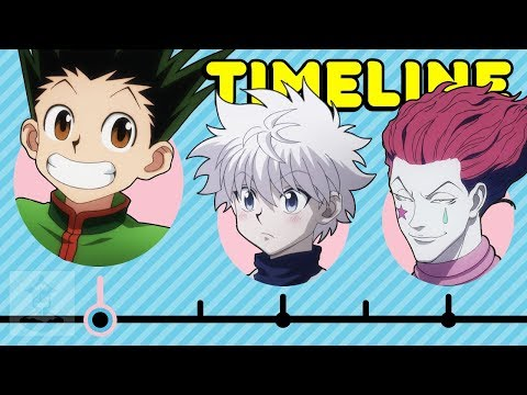 The Complete Hunter X Hunter Timeline... So Far   Get In The Robot
