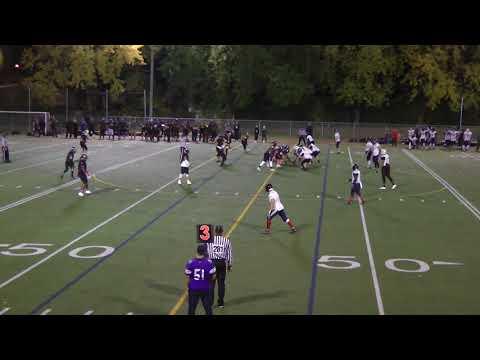 WEEK 9 : Panthères v.s Bulldogs 28/10/17