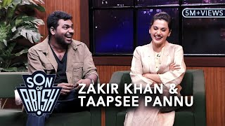 Video Son Of Abish feat. Zakir Khan & Taapsee Pannu MP3, 3GP, MP4, WEBM, AVI, FLV November 2017